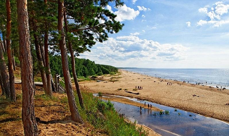 beach, nature saulkrasti