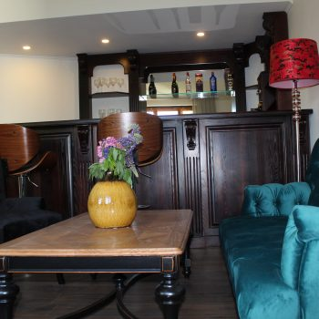 cafe  and billiard room