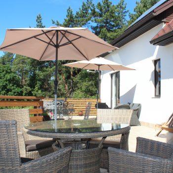 Sunny terrace west